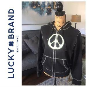 Lucky 🍀Brand Peace Hoodie